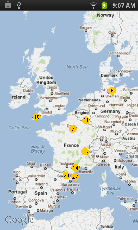 Android app to display nuclear radiation readings around the world gumiabroncs Choice Image