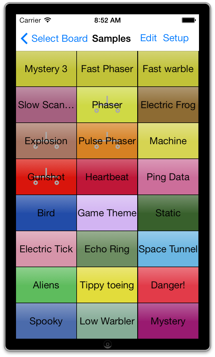 Synth 76477 - A sound effects generator and synthesizer app for your