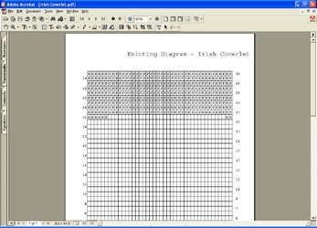 Knitting Wizard Software To Create Knitting Grids Knitting Diagrams